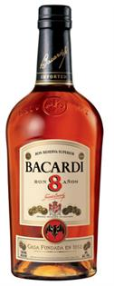 Bacardi Rum 8 Year 750ml